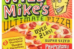 GO!Wild Mike's Pizza Only $2.87