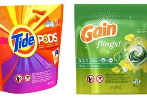 YES! Tide Pods or Gain Flings Only $1.94