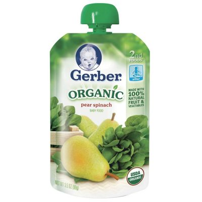 On the go with the toddlers? Gerber Pouches Only $0.75