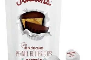 Justin's Organic Peanut Butter Cups Only $0.60