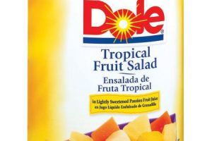 Dole Tropical Fruit Only $0.63
