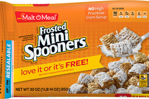 Malt O Meal Frosted Mini Spooners Only $1.86
