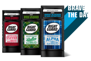 Right Guard Best Dressed Deodorant Only $1.84