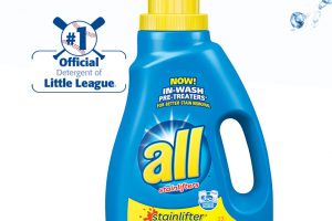 All Laundry Detergent Only $1.99