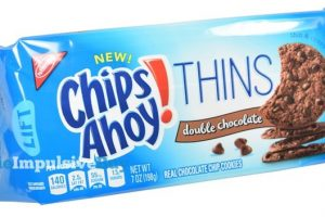 Nabisco Chips Ahoy! THINS Cookies Only $1 at Winn Dixie!