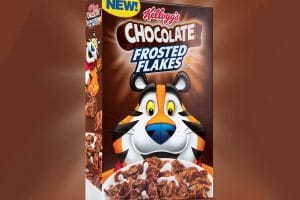 Kellogg's Chocolate Frosted Flakes Only $0.95