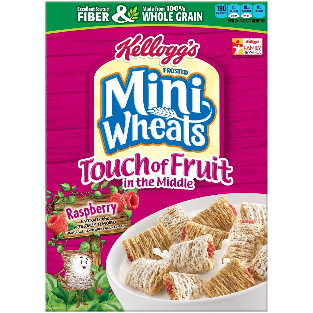 Kellogg's Frosted Mini-Wheats Cereal Only $1.99