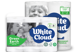 White Cloud Green Earth Paper Towels, 2 ct Only $0.12