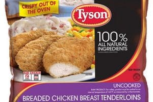 Winn Dixie – Tyson Breaded Chicken Products Only $2.75