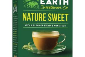 Whole Earth Sweetener packets Only $0.45