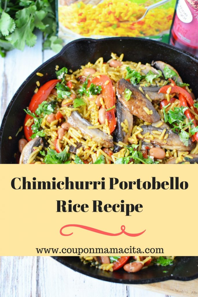 Chimichurri Portobello Rice Recipe II 1 683x1024 - Chimichurri Portobello Rice Recipe - Meals that Do More with Unilever Foods #MakeMealsThatDoMore