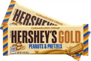 Hershey's Gold Candy Bar Only $0.19