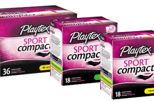 Playtex Sport Compact Tampons Only $1.75
