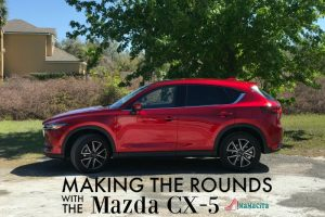 Making the Rounds with the Mazda CX-5 #DriveMazda