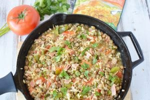 Rice with Pigeon Peas – An Easy Dish for Hectic Spring and Summer Days