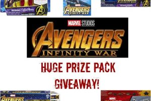 New Giveaway! Win Avengers Infinity War Toys!