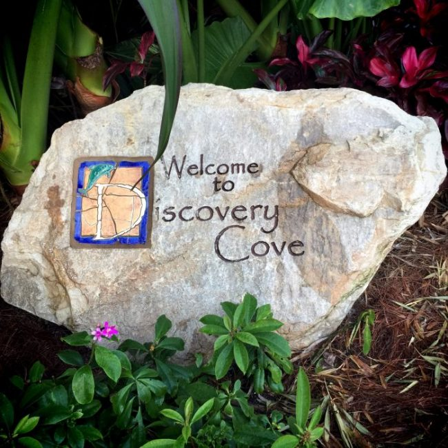 Discovery Cove is Conviently Located on the Same Property with the DoubleTree by Hilton at Orlando SeaWorld #FLVacation #TravelFL #VisitFL #DiscoveryCove
