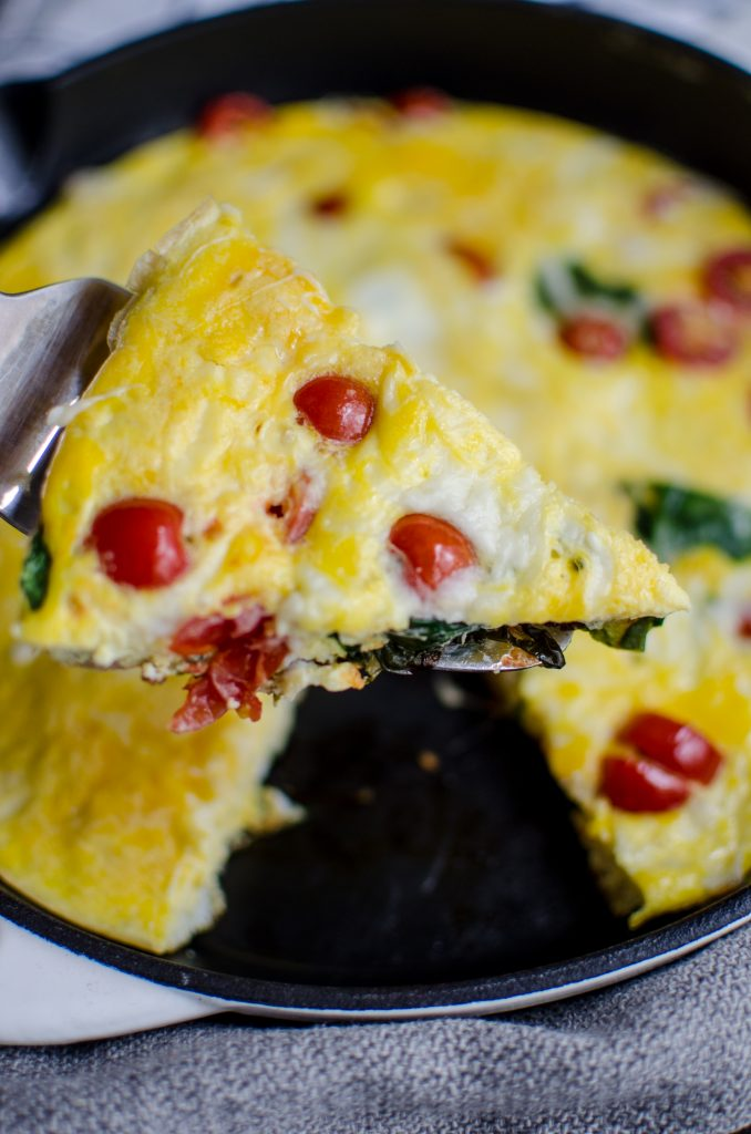 easy spinach and tomato fritatta 4 678x1024 - Mother's Day Brunch Recipes