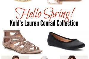 Welcome Spring With The Lauren Conrad Collection at Kohl's!