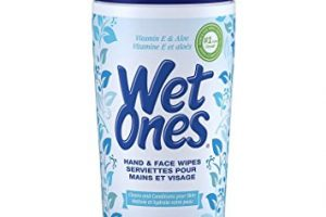 Wet Ones Wipes Canisters Only $1.49