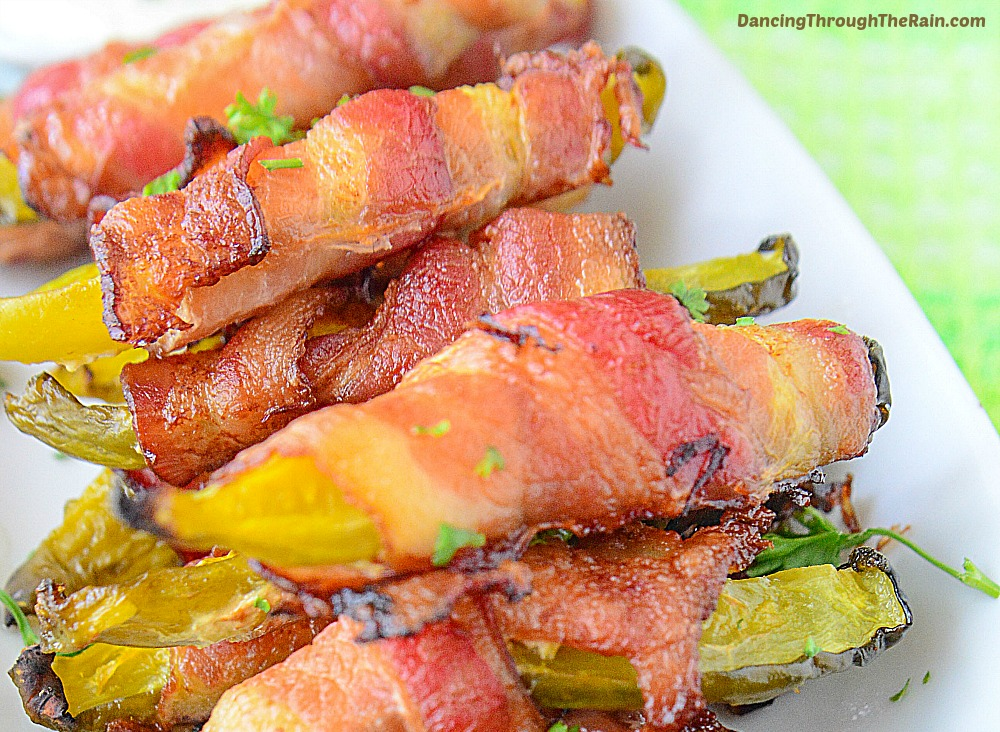 Bacon Wrapped Pickles21 - 10 Delicious Homemade Keto Snacks
