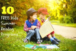 10 FREE Kids Summer Reading Programs