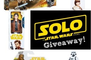 Star Wars Toys for SOLO Giveaway!
