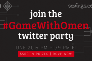 Join the #GameWithOmen Twitter Party June 21 – $500 in Prizes