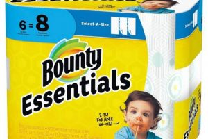 Bounty Essentials 6 Big Rolls Only $1.95