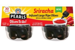 Pearls Infused Olives To Go Only $0.25
