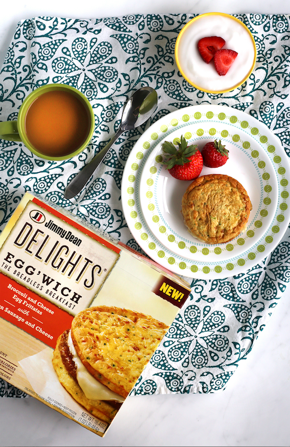 Start your Day off Right with Jimmy Dean Delights® Egg'wich