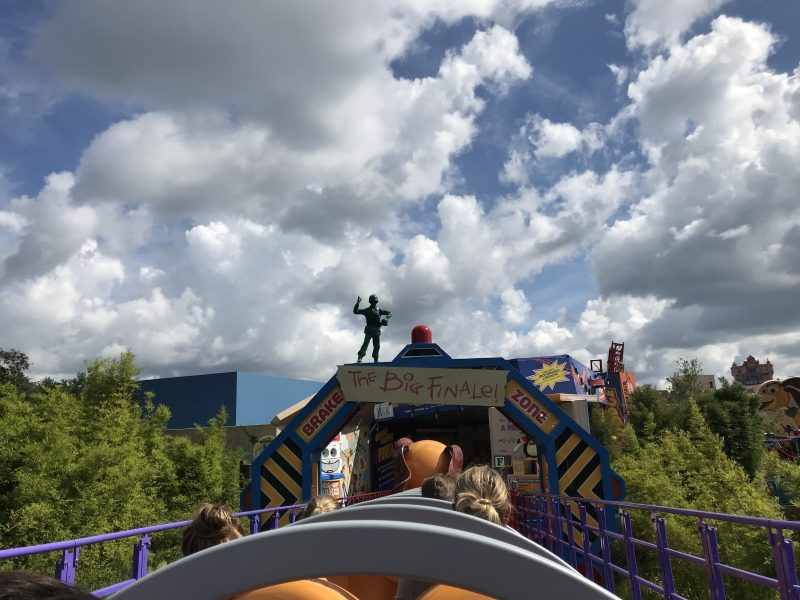 Riding Slinky Dog Hollywood Studios Toy Story Land