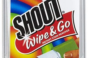 Shout Wipes & Go Wipes Only $0.25