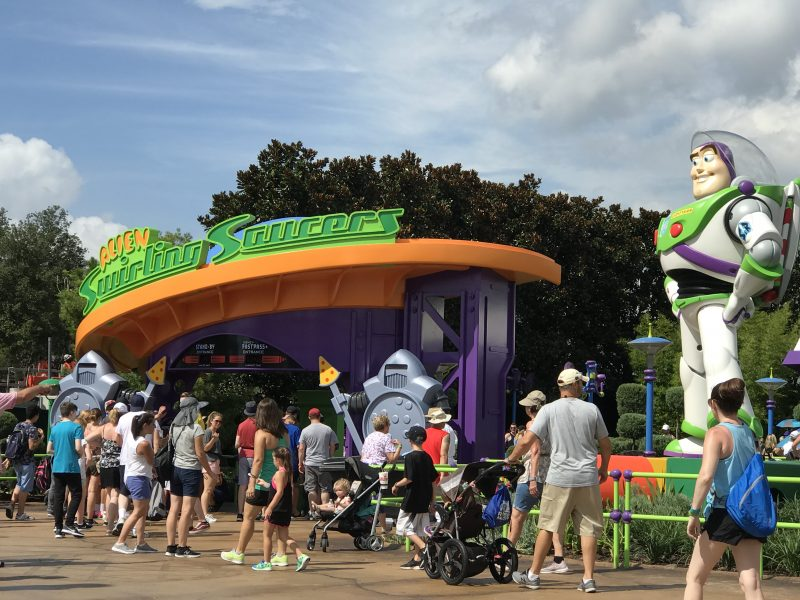 Toy StoryLand buzz lightyear
