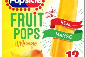 Popsicle Fruit Pop Only $2