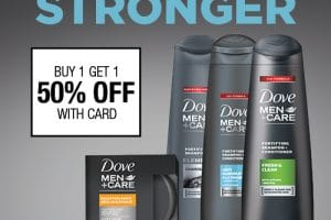 Great Hair with Dove Men+Care CVS BOGO 50% Off Deal #DMCResilientStyle