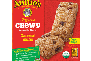 Annie's Homegrown Organic Granola Bars Only $1.60 (Reg $4.19)