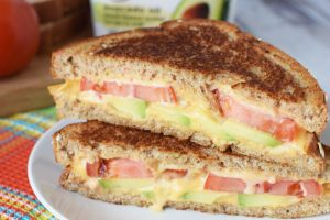 Vegan Grilled Cheese Sandwich with Avocado – Save $1.50 Pure Blends at Publix