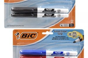 HURRY!! Bic Dry Erase Markers, 2 ct ONLY $0.50!!