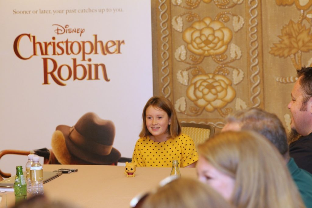 bronte carmichael interview 1024x683 - Exclusive Interview with Bronte Carmichael as Madeline in Disney's Christopher Robin