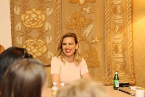 Interview with Hayley Atwell from Disney's Christopher Robin