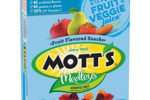 Wow! Betty Crocker Mott's Medleys Fruit Snacks 10 ct Only $0.50 With New Coupon!