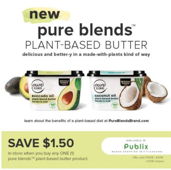 Vegan Grilled Cheese Sandwich with Avocado - Save $1.50 Pure Blends at Publix
