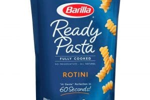 Wow! Barilla Ready Pasta Only $0.18 Each Right Now!