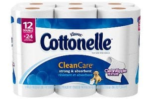 Yes! Grab Cottonelle Bath Tissue Only $4.25 Per 12 Ct- Only $0.35 a Roll!!