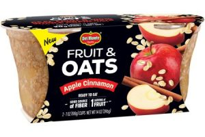 Wow!! Del Monte Fruit & Oats, 2 ct Only $0.48