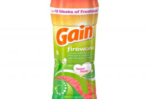 Run!!  Gain Fireworks In-Wash Scent Booster Only $1.95!!