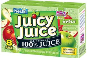 Stock Up!! Juicy Juice Cartons, 8 ct Only $1.03!