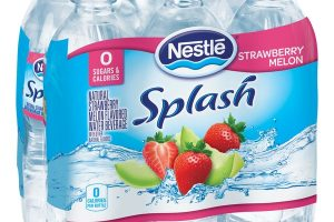 Woot!! Nestle Splash Flavored Water 6 Pack Only $0.75 Each!