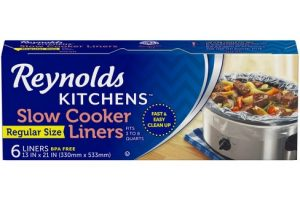 Reynolds Slow Cooker Liners, 5 ct Only $1.12!! Stock Up!!